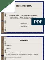 APRESENTAÇÃO EDUCAÇÃO DIGITAL