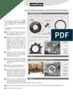 VW montagem flange roda fônica 1