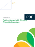 Getting Started With Alfresco Share Collaboration for Community