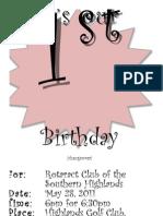 Rotaract Invitation