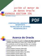 Introducción Oracle
