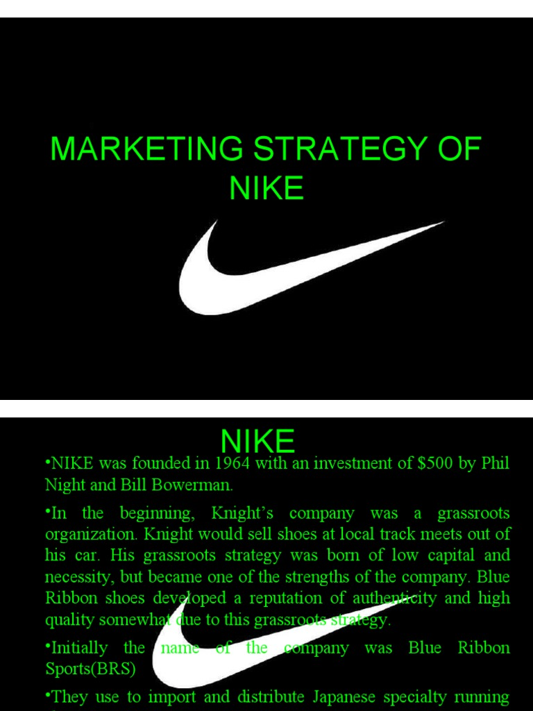 nike distribution strategy