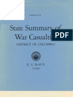 WWII District of Columbia Navy Casualties