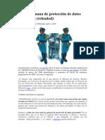 La ley peruana de protección de datos personales