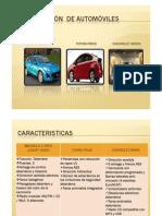 Comparación  de automóviles