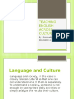 Teaching English Across Culture