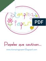 Catalogo  de Stamping Paper