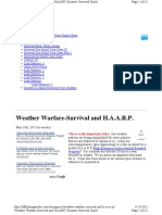Weather Warfare-Survival and P