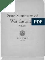 WWII Utah Navy Casualties