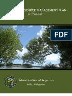 Coastal Resource Management Plan, CY 2008-2017, Leganes, Iloilo, Philippines