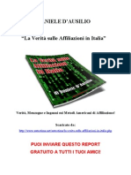 La Verità sulle Affiliazioni in Italia