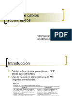 Calculo de Cables Subterraneos