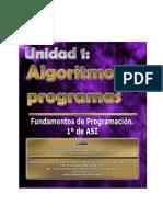 Fundamentos de Programación - 1 - Algoritmos y Programas