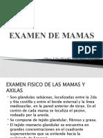 Examen Fisico de Las Mamas y Axilas