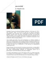 Francisco de Miranda Microsoft Office Word