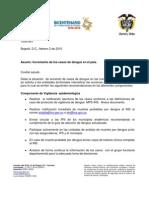 Circular Dengue 2010