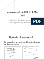 Dimension Ado Segun ASME Y14.5M