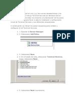 Manual de Instalacion y ConfiguracionTerminal Services en Windows Server 2008
