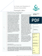 WCE Newsletter May 2011