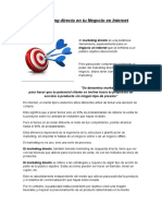 El Marketing Directo en Tu Negocio en Internet