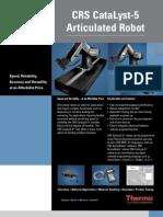 5dof Crs Robot Pis
