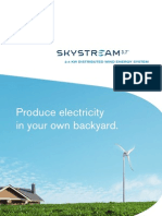 Skystream Brochure