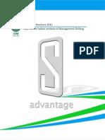 IIM Shillong Placement Brochure 2011