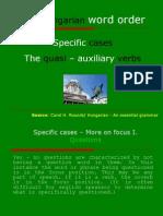 The quasi - auxiliary verbs
