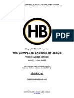 Complete Sayings Jesus