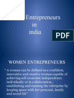 Women Entrepreneurs Ppt_by Sneha