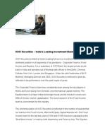 About ICICI Securities