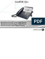 ENT PHONES IPTouch-4038-4068-4039Digital-OXOffice Manual 0907 US