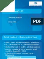 ashok leyland ltd company analysis