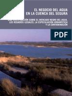 El negocio del agua en la cuenca del Segura por Greenpeace