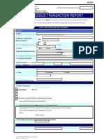 STR Form Moneylenders & Pawnbrokers
