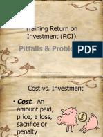 Training Return on Investment Roi