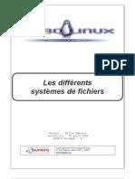 linux - le systeme de fichiers