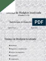 Radioterapia no linfoma de Hodgkin localizado