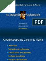 Radioterapia no cancro da mama