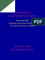 Respiratory Failure_ Dr. Patel