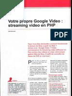 php et streaming vidéo