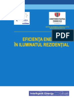 Eficienta Energetic A in Iluminatul Rezidential