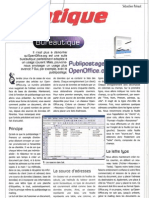 publipostage avec open office