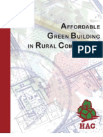 Green Building in Rural Communities