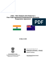 India New Zeal And Joint Study Report 2009