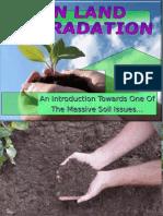 On Land Degradation