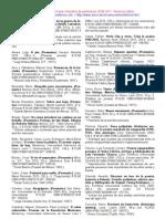 América Latina - Poesía - Selección 2009-2011