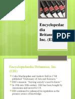 Encyclopedaedia Britannica