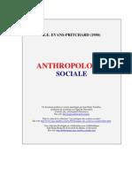 Evans-Pritchard Antropologie Sociale