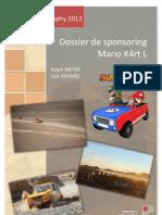 Dossier Sponsoring - Mario K4rt L